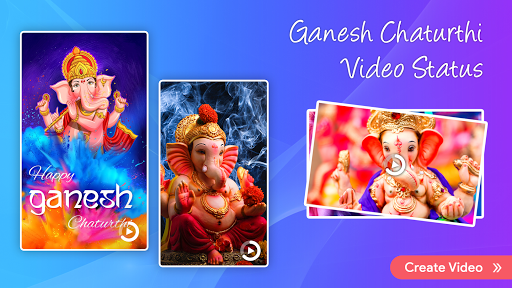 Ganesh video maker with song screenshot 3