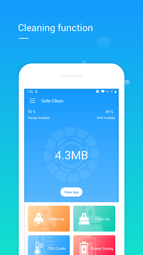 Safe Clean&Speed up Cleaner Power saving Cleaner screenshot 2