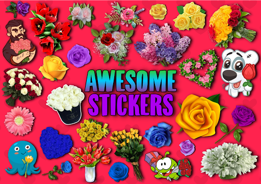 WAstickerApps Flowers and Roses Stickers screenshot 4