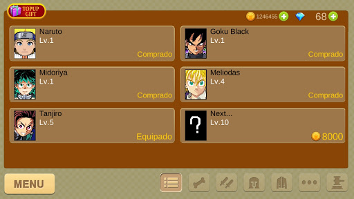 Anime Fighters - Online screenshot 4