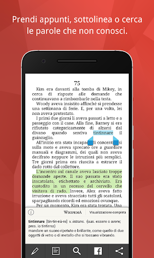 La Feltrinelli Kobo screenshot 6
