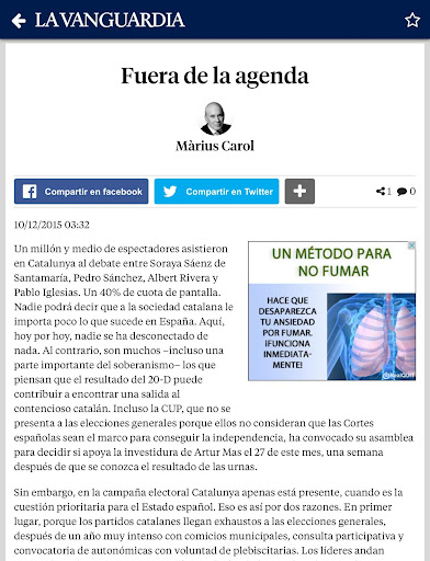 La Vanguardia screenshot 22