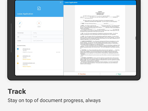 SignEasy | Sign and Fill PDF and other Documents screenshot 14
