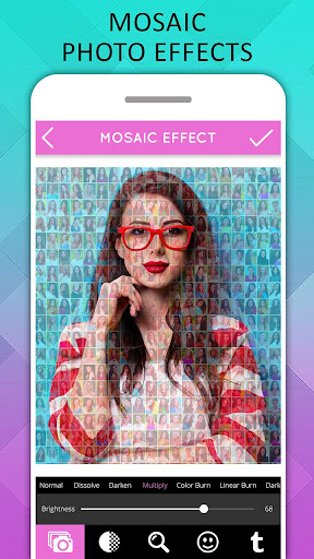 Mosaic Photo Effects screenshot 1