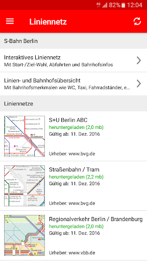S-Bahn Berlin screenshot 5