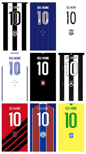Wallpaper Camisas Futebol screenshot 4