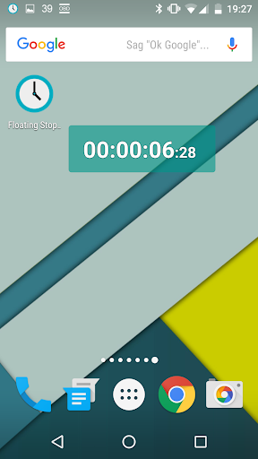 Floating Stopwatch screenshot 1