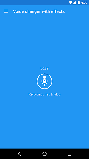 Voice changer with effects screenshot 1