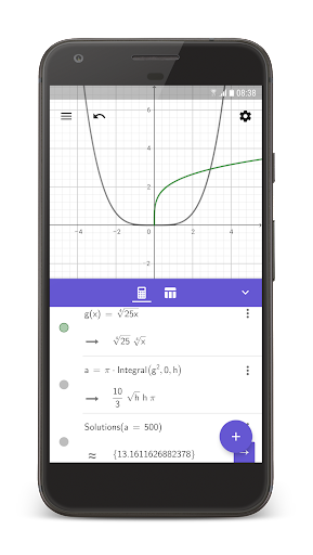 GeoGebra CAS Calculator screenshot 1