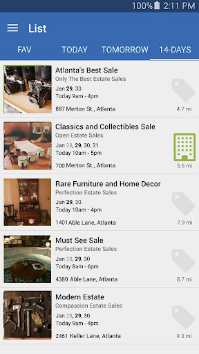 Estate Sales screenshot 4