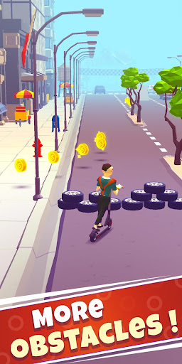 Free Robux Scooter Ride screenshot 2