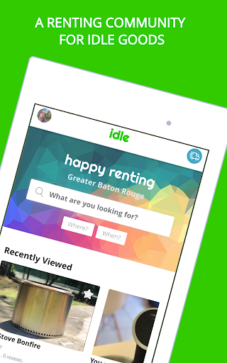 Idle - Rent Any Thing - Earn Any Time screenshot 11