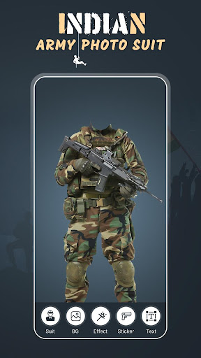 Indian Army Photo Suit screenshot 1