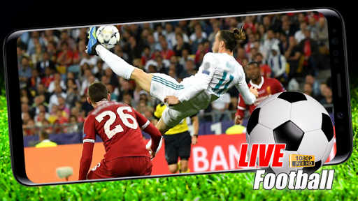 Free Football HD Live TV Advice; Mobile Soccer Tv screenshot 1