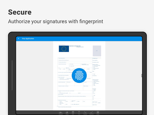 SignEasy | Sign and Fill PDF and other Documents screenshot 12