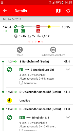 S-Bahn Berlin screenshot 3