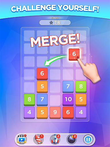 Merge Number Puzzle screenshot 9