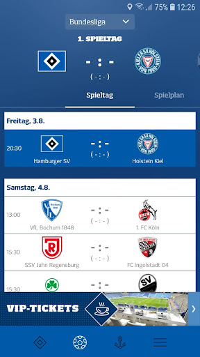 Hamburger SV screenshot 1