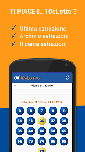Estrazioni 10 e Lotto screenshot 1