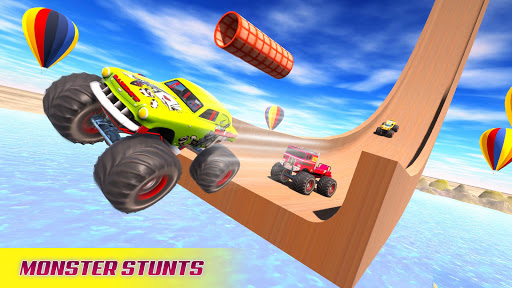 Mega Ramp Car Racing Stunts 3D screenshot 1