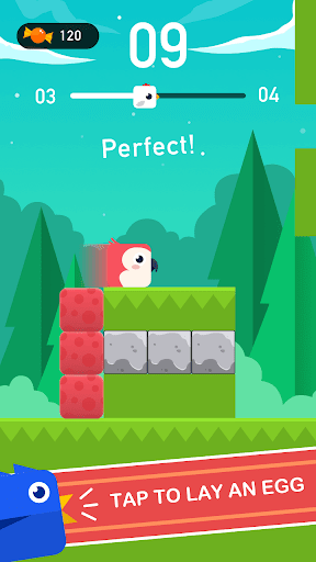 Square Bird - Tower Egg screenshot 2