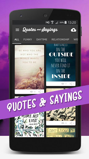 Quotes Videos & Pictures screenshot 1